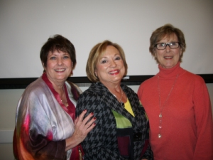 Past - Present -Future Presidents Trish Newman, Patti Wrobel, Shirley Taradash