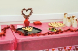 Low Sugar Valentine's Day Celebration at Feb. 12th Meeting