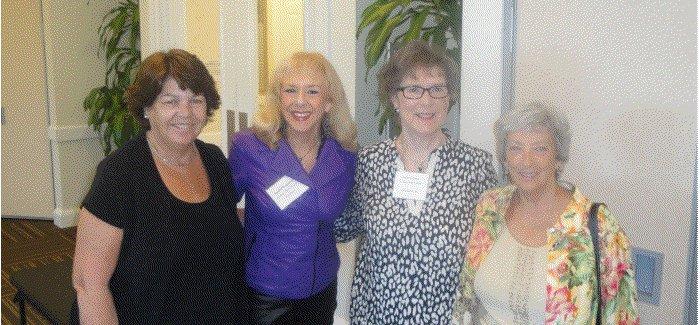 Cheryl Breining, Monika Templeman (Vice President), Shirley Taradash (President) and Linda Hirshman