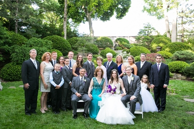 The Danahy Family at the Wedding of MaryLee and Paul's Granddaughter in Cleveland, Ohio.