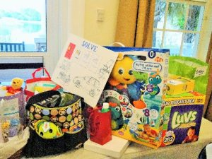 LWRWC gives generous Baby Shower donations to SOLVE Maternity Homes (a LWRWC adopted charity.)
