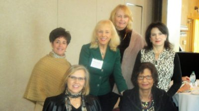 Monika Templeman, center, with New Members